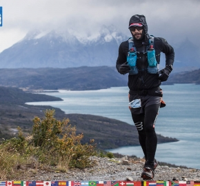 utf1904clsi0195FB Ultra Trail Running in Patagonia, Chile; Ultra Fiord Fifth Edition 2019; Torres del Paine; Última Esperanza; Puerto Natales; Patagonia Running Ultra Trail; Claudio Silva