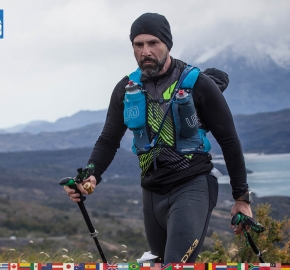 utf1904clsi0205FB Ultra Trail Running in Patagonia, Chile; Ultra Fiord Fifth Edition 2019; Torres del Paine; Última Esperanza; Puerto Natales; Patagonia Running Ultra Trail; Claudio Silva