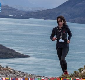 utf1904clsi0208FB Ultra Trail Running in Patagonia, Chile; Ultra Fiord Fifth Edition 2019; Torres del Paine; Última Esperanza; Puerto Natales; Patagonia Running Ultra Trail; Claudio Silva