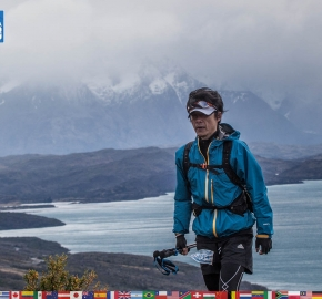 utf1904clsi0220FB Ultra Trail Running in Patagonia, Chile; Ultra Fiord Fifth Edition 2019; Torres del Paine; Última Esperanza; Puerto Natales; Patagonia Running Ultra Trail; Claudio Silva