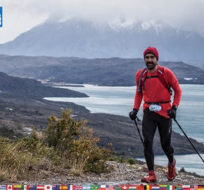 utf1904clsi0226FB Ultra Trail Running in Patagonia, Chile; Ultra Fiord Fifth Edition 2019; Torres del Paine; Última Esperanza; Puerto Natales; Patagonia Running Ultra Trail; Claudio Silva