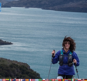 utf1904clsi0242FB Ultra Trail Running in Patagonia, Chile; Ultra Fiord Fifth Edition 2019; Torres del Paine; Última Esperanza; Puerto Natales; Patagonia Running Ultra Trail; Claudio Silva