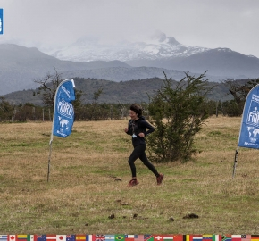 utf1904clsi0245FB Ultra Trail Running in Patagonia, Chile; Ultra Fiord Fifth Edition 2019; Torres del Paine; Última Esperanza; Puerto Natales; Patagonia Running Ultra Trail; Claudio Silva