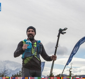 utf1904clsi0250FB2 Ultra Trail Running in Patagonia, Chile; Ultra Fiord Fifth Edition 2019; Torres del Paine; Última Esperanza; Puerto Natales; Patagonia Running Ultra Trail; Claudio Silva