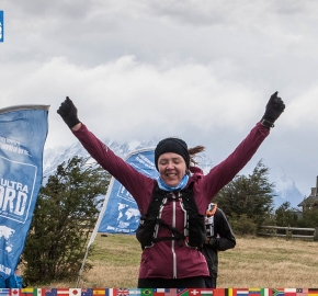 utf1904clsi0271FB Ultra Trail Running in Patagonia, Chile; Ultra Fiord Fifth Edition 2019; Torres del Paine; Última Esperanza; Puerto Natales; Patagonia Running Ultra Trail; Claudio Silva