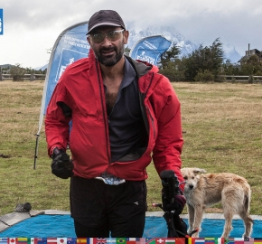 utf1904clsi0276FB Ultra Trail Running in Patagonia, Chile; Ultra Fiord Fifth Edition 2019; Torres del Paine; Última Esperanza; Puerto Natales; Patagonia Running Ultra Trail; Claudio Silva