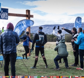utf1904clsi0291FB Ultra Trail Running in Patagonia, Chile; Ultra Fiord Fifth Edition 2019; Torres del Paine; Última Esperanza; Puerto Natales; Patagonia Running Ultra Trail; Claudio Silva