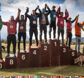 utf1904clsi0346FB; Ultra Trail Running in Patagonia, Chile; Ultra Fiord Fifth Edition 2019; Torres del Paine; Última Esperanza; Puerto Natales; Patagonia Running Ultra Trail; Claudio Silva