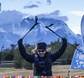 utf1904clsi0378FB; Ultra Trail Running in Patagonia, Chile; Ultra Fiord Fifth Edition 2019; Torres del Paine; Última Esperanza; Puerto Natales; Patagonia Running Ultra Trail; Claudio Silva