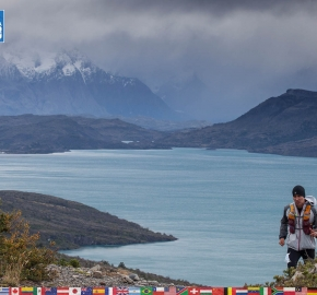 utf1904clsi0879FB; Ultra Trail Running in Patagonia, Chile; Ultra Fiord Fifth Edition 2019; Torres del Paine; Última Esperanza; Puerto Natales; Patagonia Running Ultra Trail; Claudio Silva