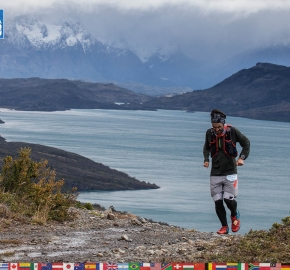 utf1904clsi9981FB; Ultra Trail Running in Patagonia, Chile; Ultra Fiord Fifth Edition 2019; Torres del Paine; Última Esperanza; Puerto Natales; Patagonia Running Ultra Trail; Claudio Silva