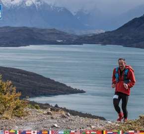 utf1904clsi9996FB; Ultra Trail Running in Patagonia, Chile; Ultra Fiord Fifth Edition 2019; Torres del Paine; Última Esperanza; Puerto Natales; Patagonia Running Ultra Trail; Claudio Silva