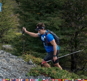 utf1904lues106aFB; Ultra Trail Running in Patagonia, Chile; Ultra Fiord Fifth Edition 2019; Torres del Paine; Última Esperanza; Puerto Natales; Patagonia Running Ultra Trail; Luis Espinoza