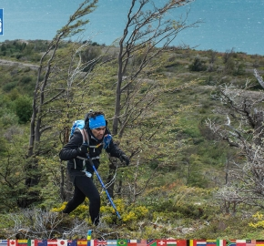 utf1904lues125FB; Ultra Trail Running in Patagonia, Chile; Ultra Fiord Fifth Edition 2019; Torres del Paine; Última Esperanza; Puerto Natales; Patagonia Running Ultra Trail; Luis Espinoza