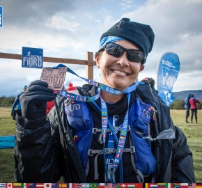 utf1904lues145FB; Ultra Trail Running in Patagonia, Chile; Ultra Fiord Fifth Edition 2019; Torres del Paine; Última Esperanza; Puerto Natales; Patagonia Running Ultra Trail; Luis Espinoza