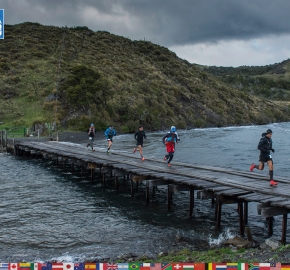 utf1904lues26FButf1904lues02FB; Ultra Trail Running in Patagonia, Chile; Ultra Fiord Fifth Edition 2019; Torres del Paine; Última Esperanza; Puerto Natales; Patagonia Running Ultra Trail; Luis Espinoza