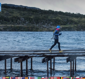 utf1904lues43FB; Ultra Trail Running in Patagonia, Chile; Ultra Fiord Fifth Edition 2019; Torres del Paine; Última Esperanza; Puerto Natales; Patagonia Running Ultra Trail; Luis Espinoza
