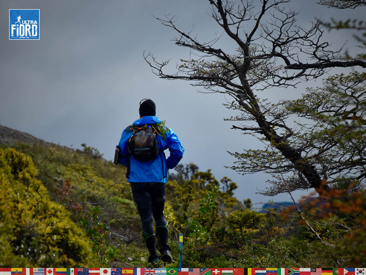 utf1904algo1649FB; Ultra Trail Running in Patagonia, Chile; Ultra Fiord Fifth Edition 2019; Torres del Paine; Última Esperanza; Puerto Natales; Patagonia Running Ultra Trail; Alejandro González