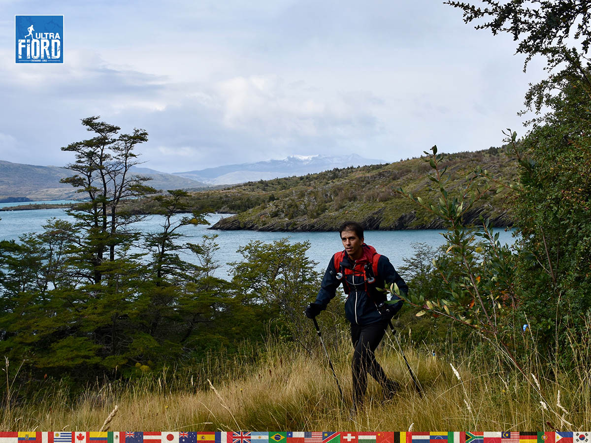 utf1904algo1725FB; Ultra Trail Running in Patagonia, Chile; Ultra Fiord Fifth Edition 2019; Torres del Paine; Última Esperanza; Puerto Natales; Patagonia Running Ultra Trail; Alejandro González