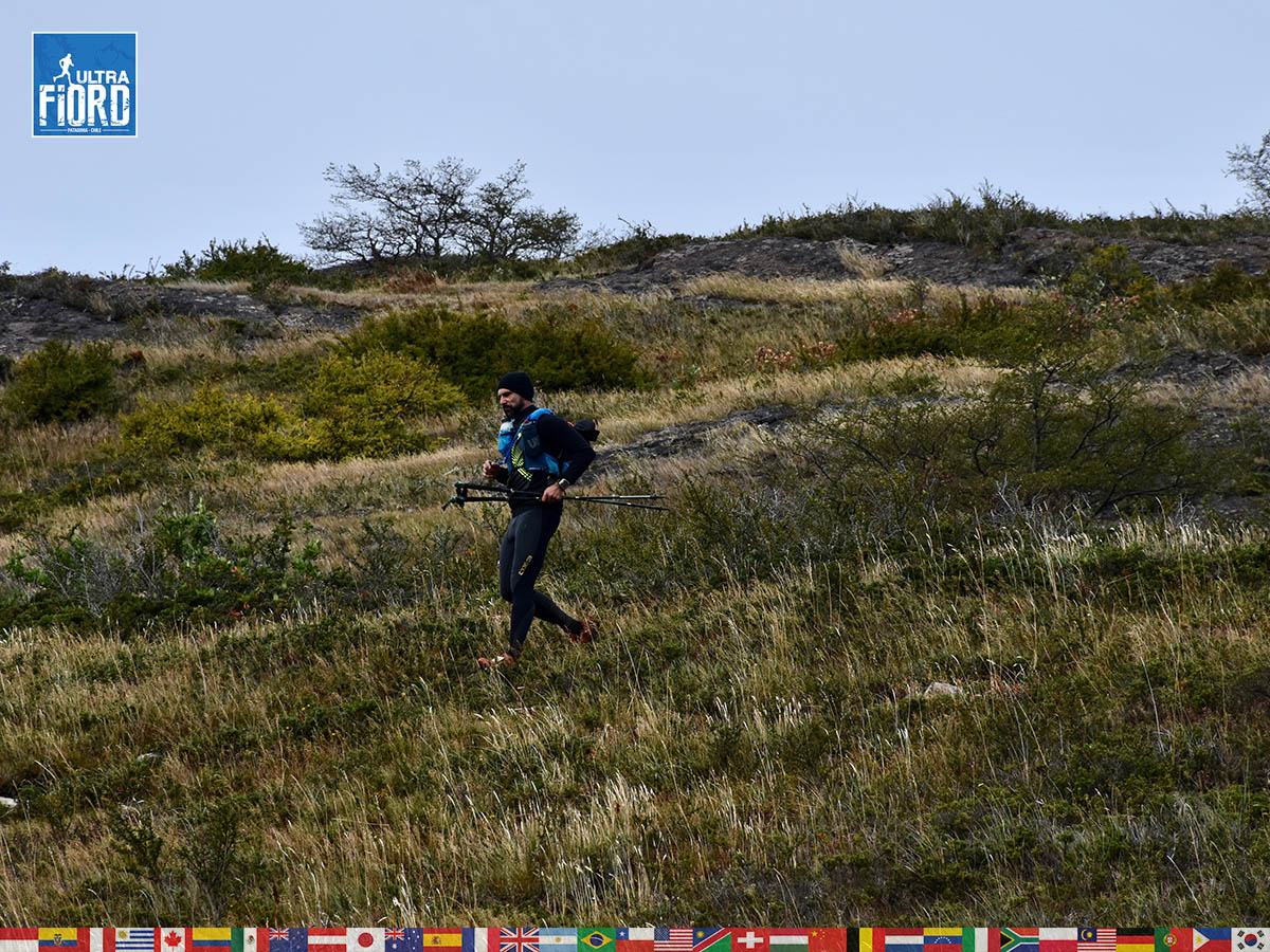 utf1904algo2139FB; Ultra Trail Running in Patagonia, Chile; Ultra Fiord Fifth Edition 2019; Torres del Paine; Última Esperanza; Puerto Natales; Patagonia Running Ultra Trail; Alejandro González