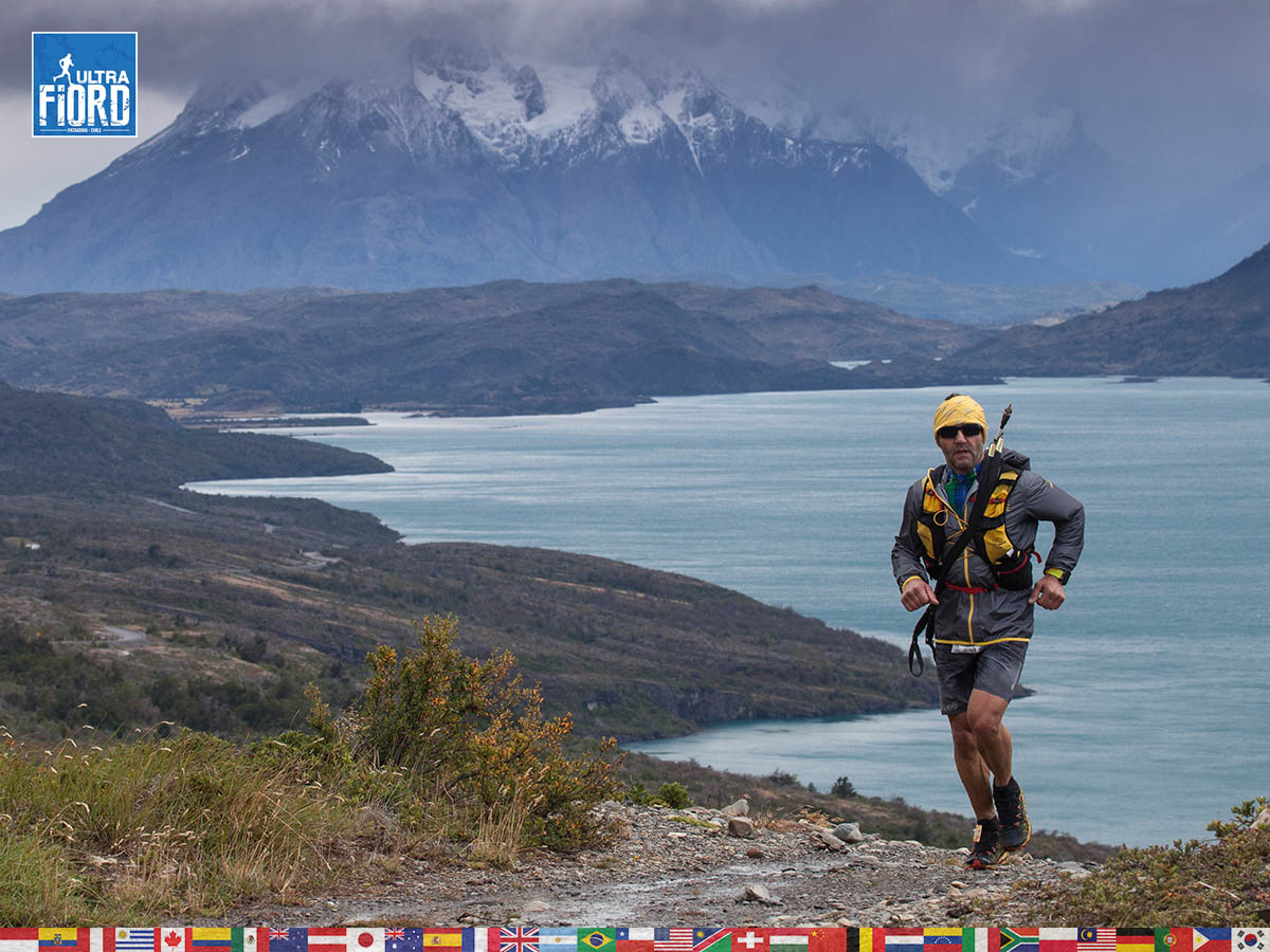 utf1904clsi0005FB; Ultra Trail Running in Patagonia, Chile; Ultra Fiord Fifth Edition 2019; Torres del Paine; Última Esperanza; Puerto Natales; Patagonia Running Ultra Trail; Claudio Silva