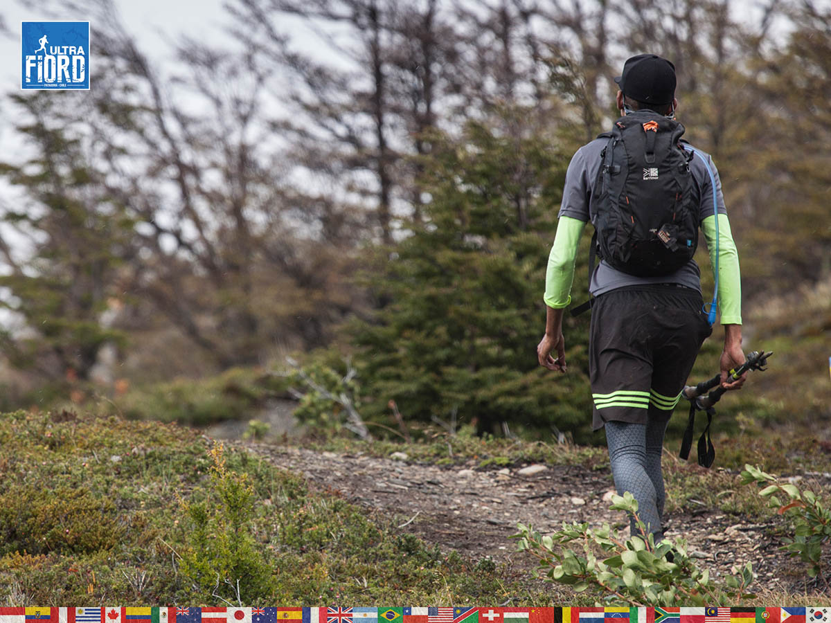 utf1904clsi0022FB; Ultra Trail Running in Patagonia, Chile; Ultra Fiord Fifth Edition 2019; Torres del Paine; Última Esperanza; Puerto Natales; Patagonia Running Ultra Trail; Claudio Silva
