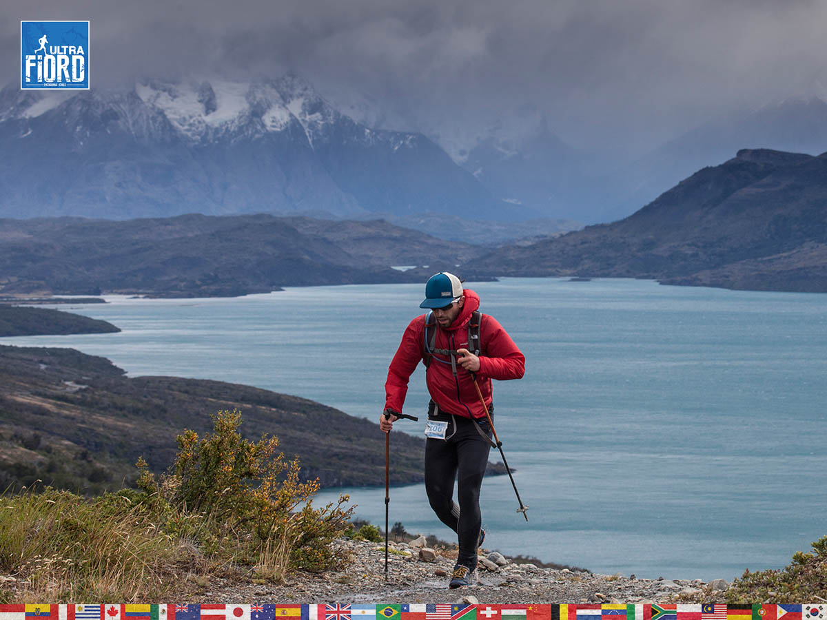 utf1904clsi0024FB; Ultra Trail Running in Patagonia, Chile; Ultra Fiord Fifth Edition 2019; Torres del Paine; Última Esperanza; Puerto Natales; Patagonia Running Ultra Trail; Claudio Silva