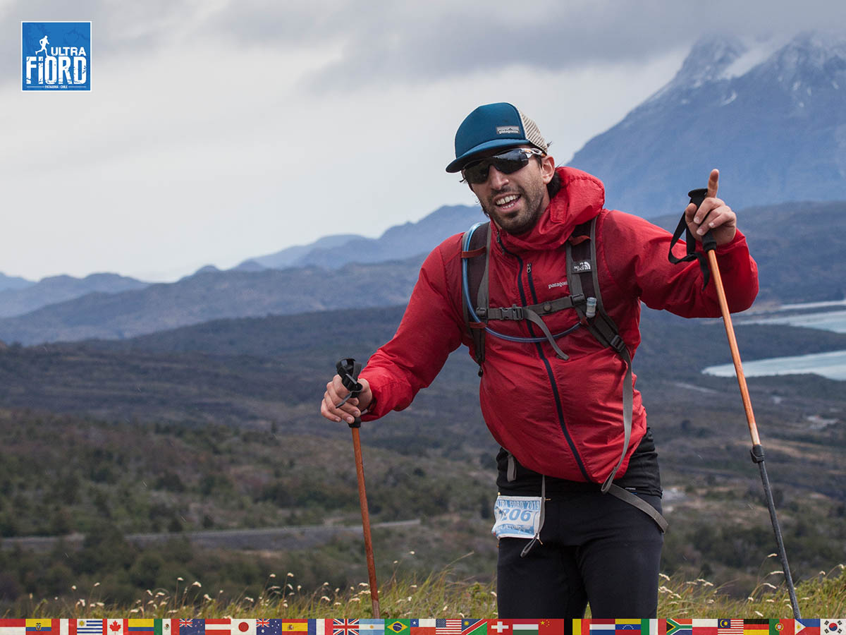 utf1904clsi0026FB; Ultra Trail Running in Patagonia, Chile; Ultra Fiord Fifth Edition 2019; Torres del Paine; Última Esperanza; Puerto Natales; Patagonia Running Ultra Trail; Claudio Silva