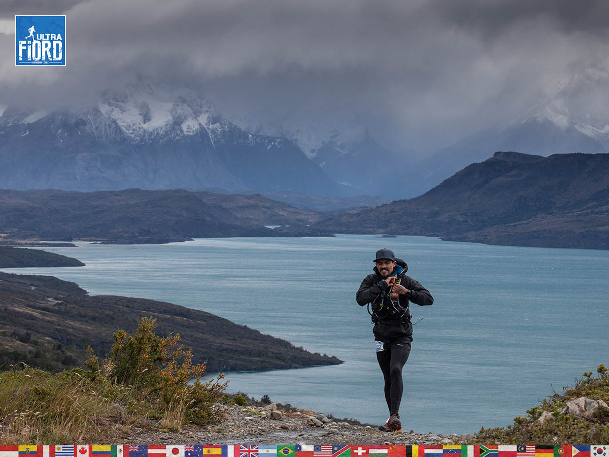 utf1904clsi0036FB; Ultra Trail Running in Patagonia, Chile; Ultra Fiord Fifth Edition 2019; Torres del Paine; Última Esperanza; Puerto Natales; Patagonia Running Ultra Trail; Claudio Silva