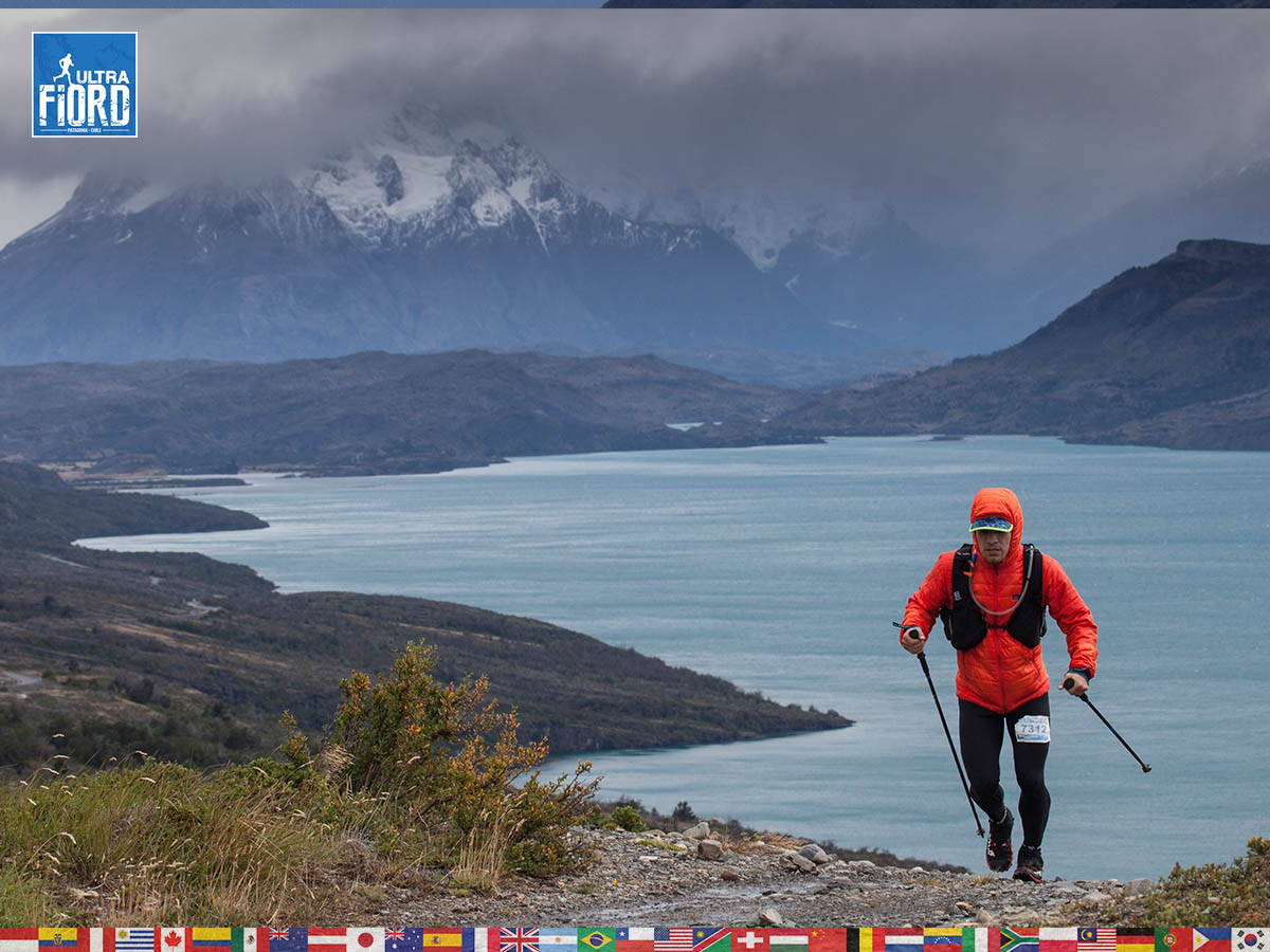 utf1904clsi0041FB; Ultra Trail Running in Patagonia, Chile; Ultra Fiord Fifth Edition 2019; Torres del Paine; Última Esperanza; Puerto Natales; Patagonia Running Ultra Trail; Claudio Silva