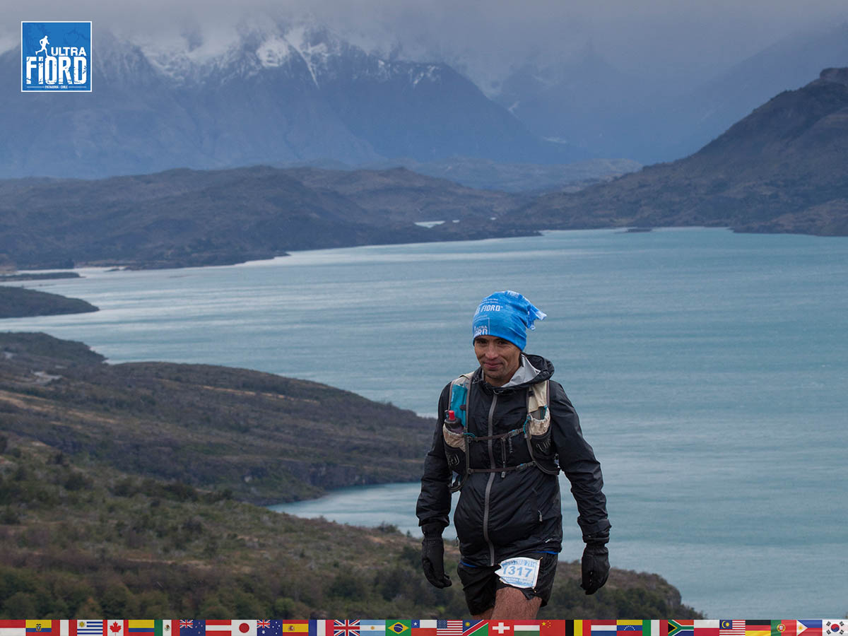 utf1904clsi0051FB; Ultra Trail Running in Patagonia, Chile; Ultra Fiord Fifth Edition 2019; Torres del Paine; Última Esperanza; Puerto Natales; Patagonia Running Ultra Trail; Claudio Silva