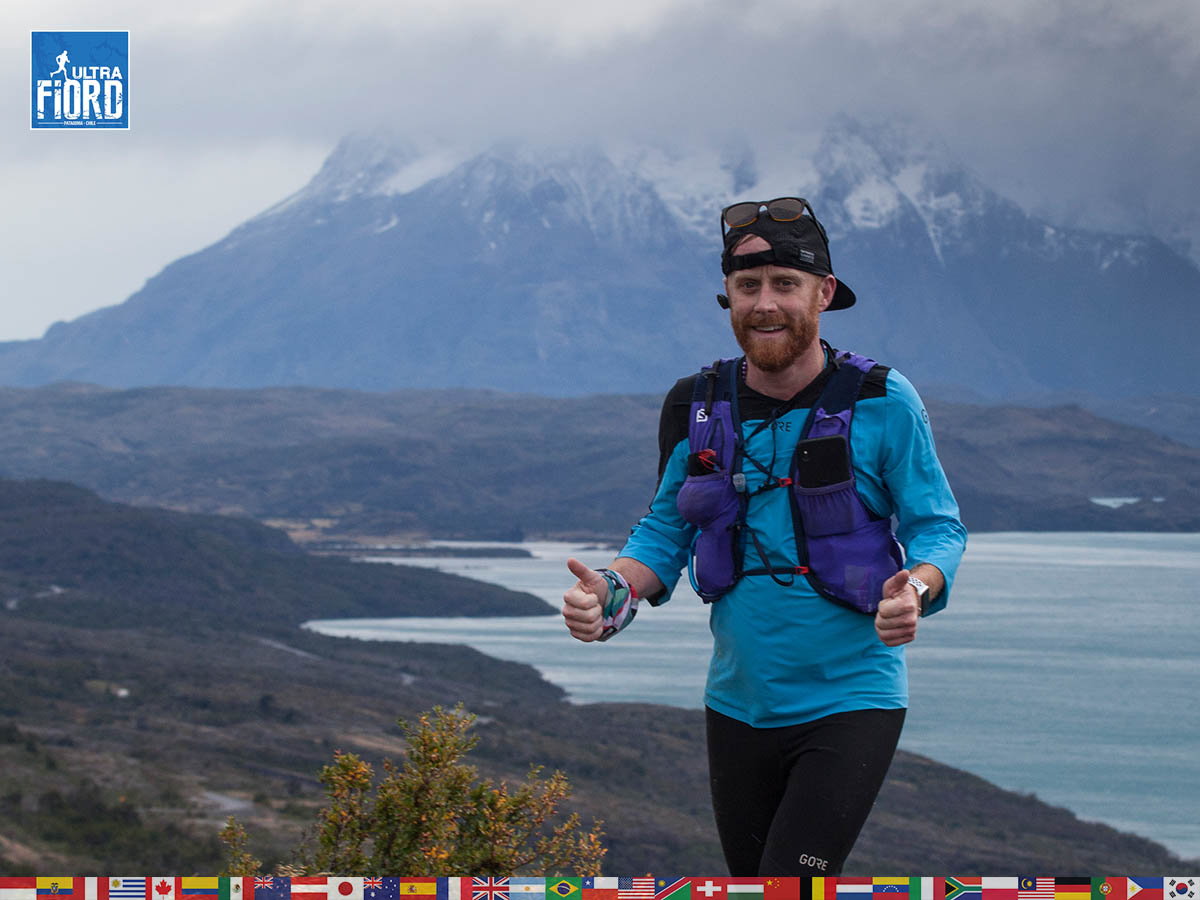 utf1904clsi0059FB; Ultra Trail Running in Patagonia, Chile; Ultra Fiord Fifth Edition 2019; Torres del Paine; Última Esperanza; Puerto Natales; Patagonia Running Ultra Trail; Claudio Silva