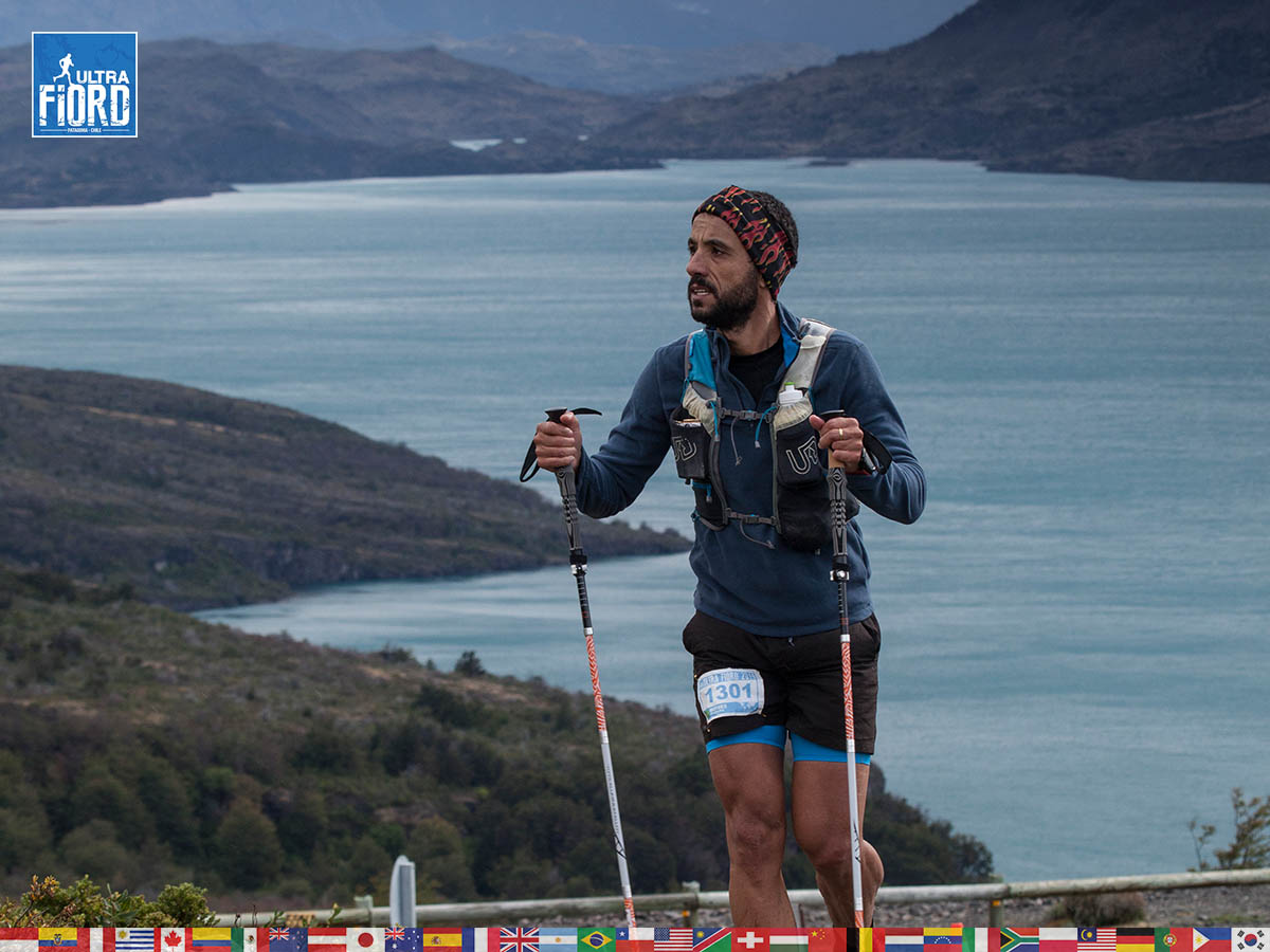 utf1904clsi0068FB; Ultra Trail Running in Patagonia, Chile; Ultra Fiord Fifth Edition 2019; Torres del Paine; Última Esperanza; Puerto Natales; Patagonia Running Ultra Trail; Claudio Silva