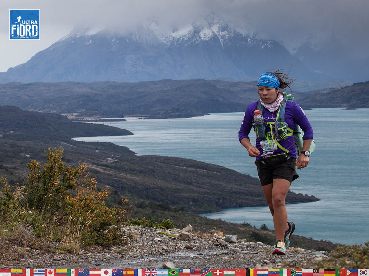 utf1904clsi0070FB; Ultra Trail Running in Patagonia, Chile; Ultra Fiord Fifth Edition 2019; Torres del Paine; Última Esperanza; Puerto Natales; Patagonia Running Ultra Trail; Claudio Silva