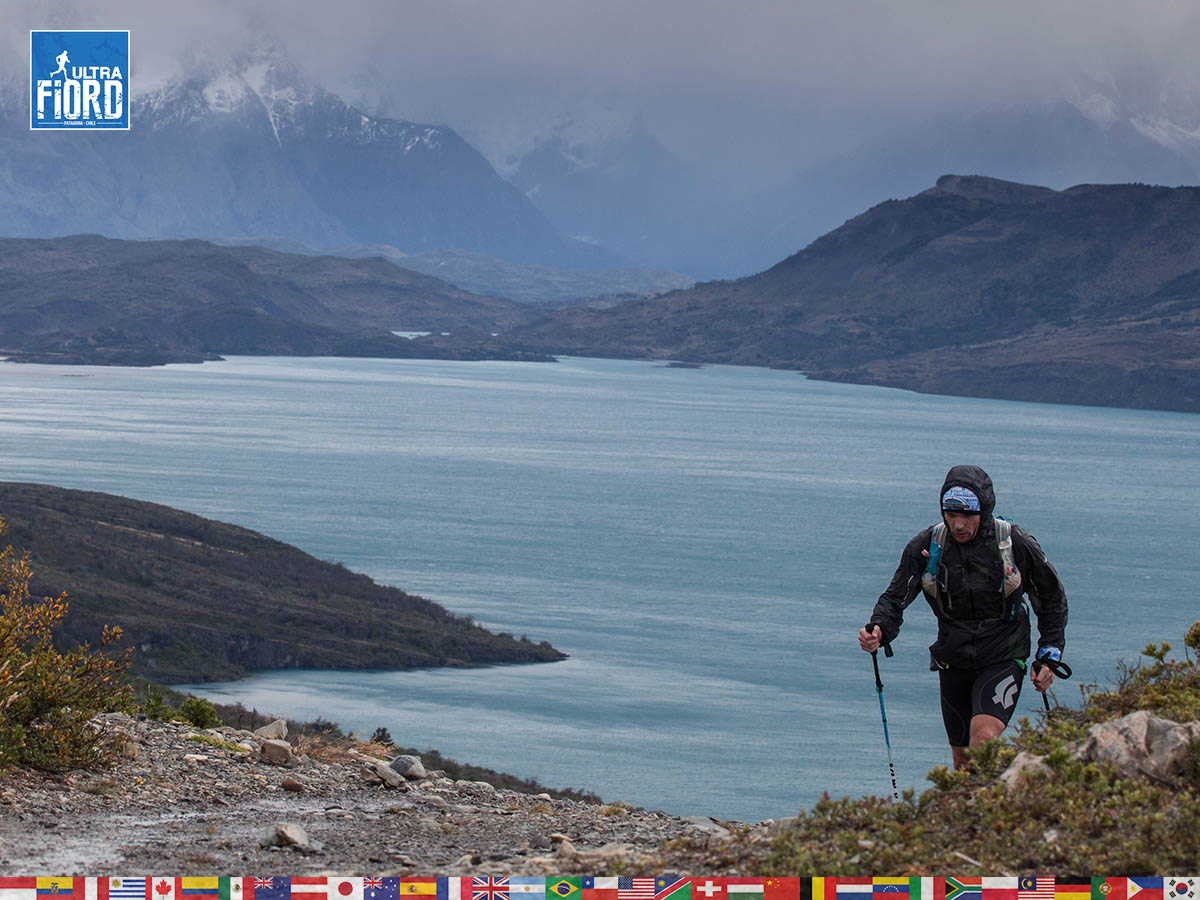 utf1904clsi0072FB; Ultra Trail Running in Patagonia, Chile; Ultra Fiord Fifth Edition 2019; Torres del Paine; Última Esperanza; Puerto Natales; Patagonia Running Ultra Trail; Claudio Silva