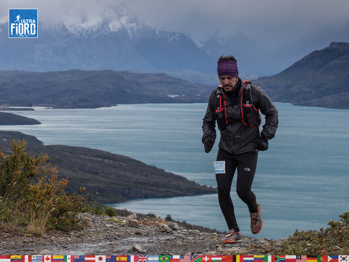 utf1904clsi0078FB; Ultra Trail Running in Patagonia, Chile; Ultra Fiord Fifth Edition 2019; Torres del Paine; Última Esperanza; Puerto Natales; Patagonia Running Ultra Trail; Claudio Silva