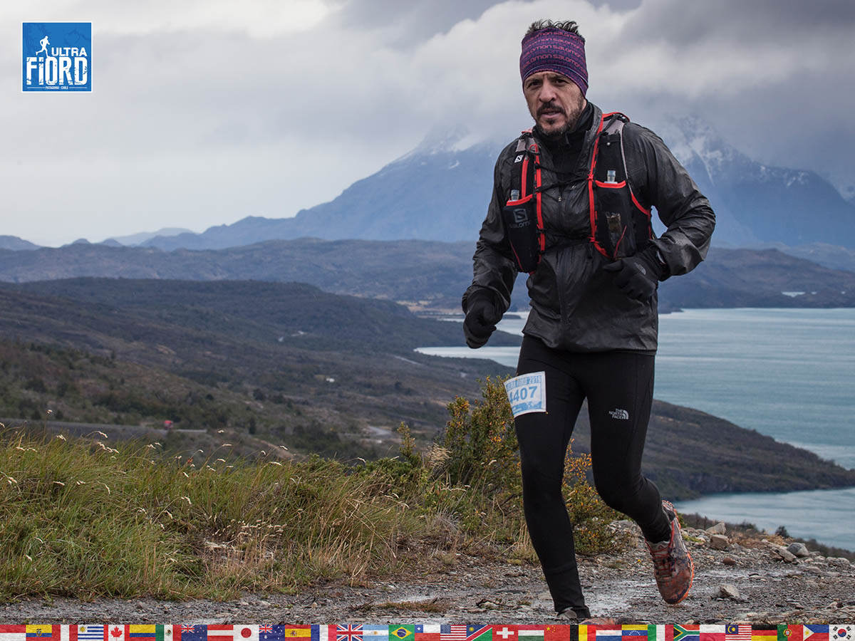 utf1904clsi0080FB; Ultra Trail Running in Patagonia, Chile; Ultra Fiord Fifth Edition 2019; Torres del Paine; Última Esperanza; Puerto Natales; Patagonia Running Ultra Trail; Claudio Silva
