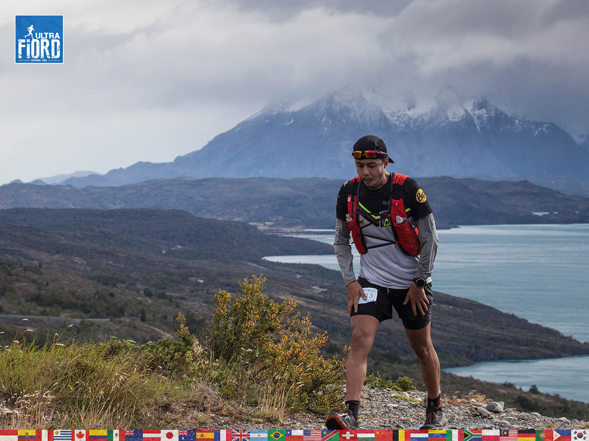 utf1904clsi0082FB; Ultra Trail Running in Patagonia, Chile; Ultra Fiord Fifth Edition 2019; Torres del Paine; Última Esperanza; Puerto Natales; Patagonia Running Ultra Trail; Claudio Silva