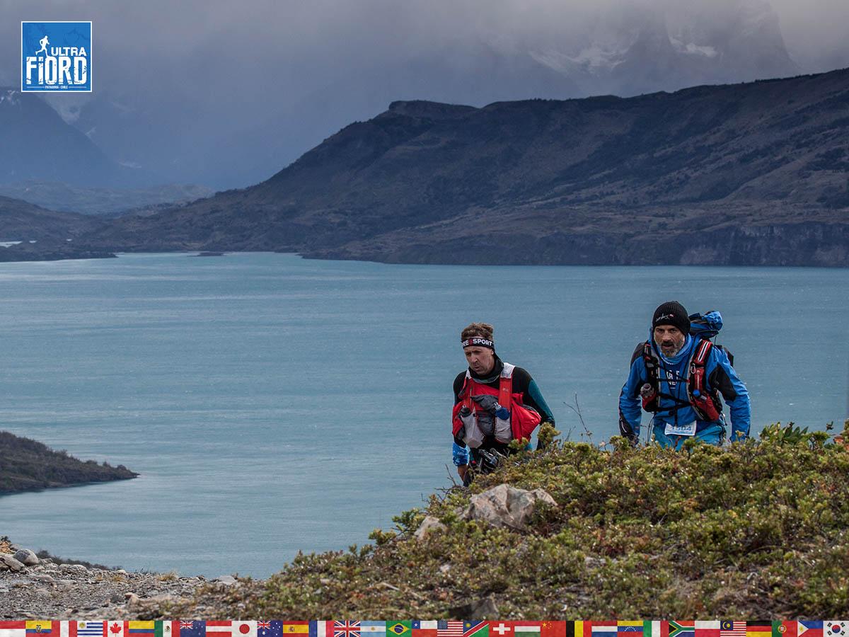utf1904clsi0083FB; Ultra Trail Running in Patagonia, Chile; Ultra Fiord Fifth Edition 2019; Torres del Paine; Última Esperanza; Puerto Natales; Patagonia Running Ultra Trail; Claudio Silva