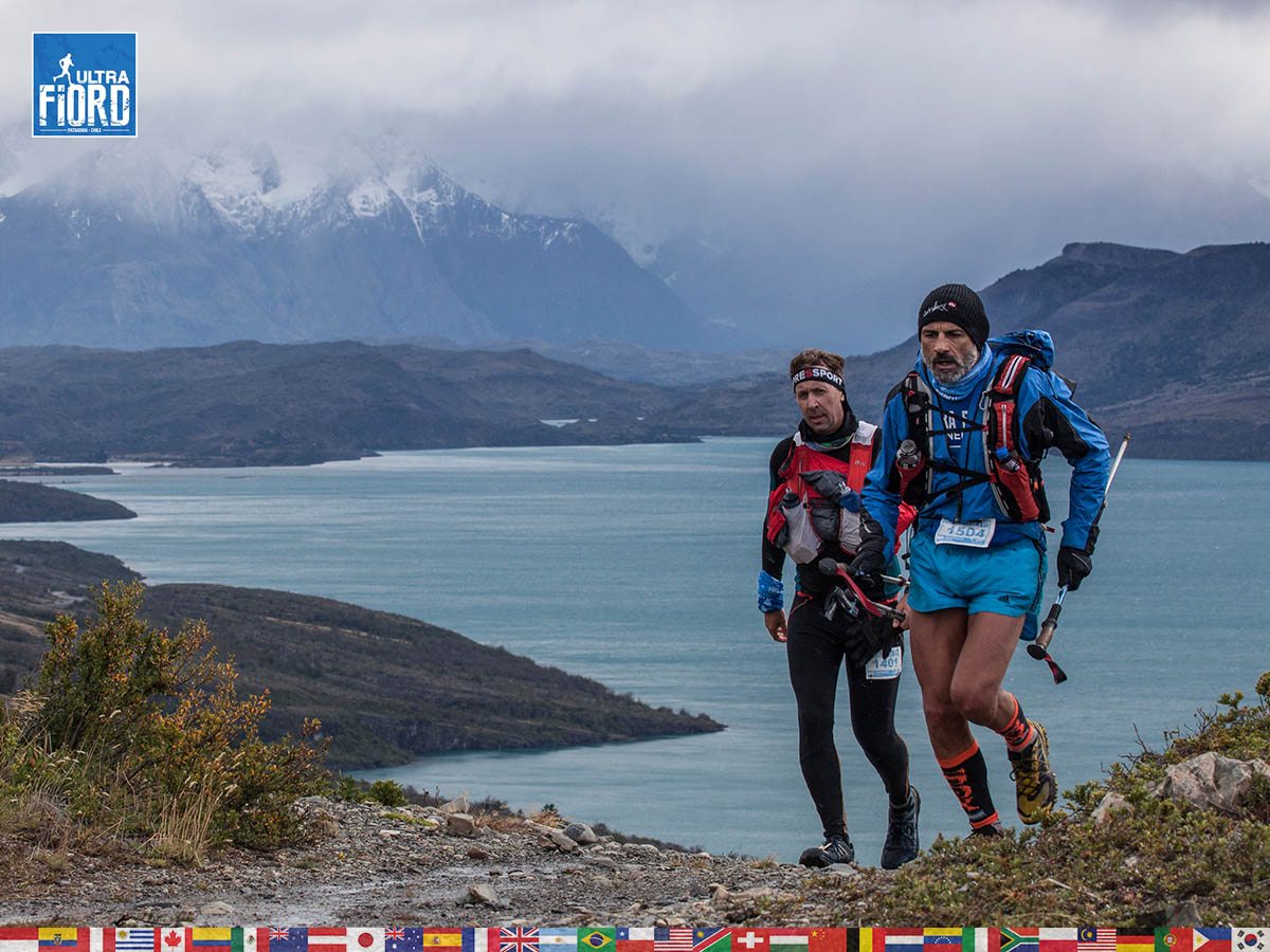 utf1904clsi0084FB; Ultra Trail Running in Patagonia, Chile; Ultra Fiord Fifth Edition 2019; Torres del Paine; Última Esperanza; Puerto Natales; Patagonia Running Ultra Trail; Claudio Silva