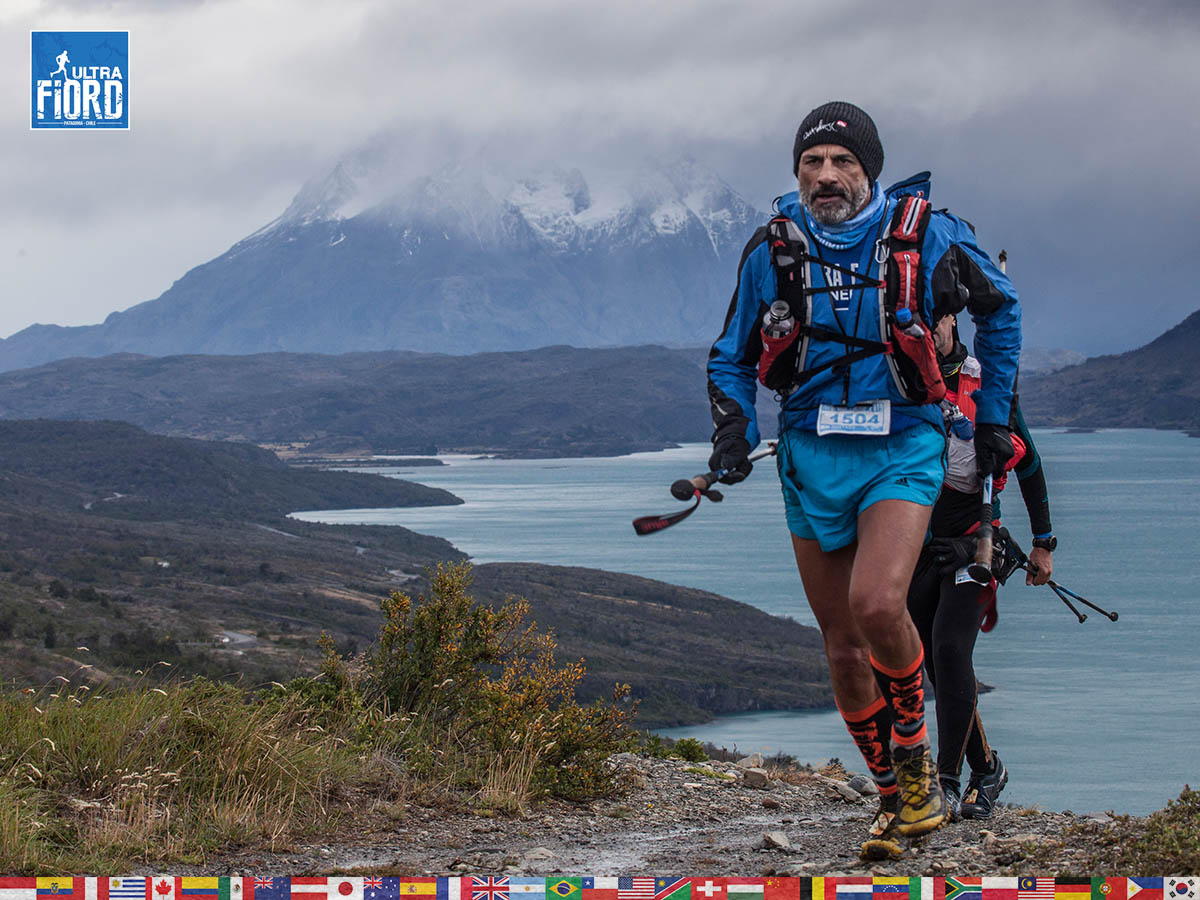 utf1904clsi0085FB; Ultra Trail Running in Patagonia, Chile; Ultra Fiord Fifth Edition 2019; Torres del Paine; Última Esperanza; Puerto Natales; Patagonia Running Ultra Trail; Claudio Silva