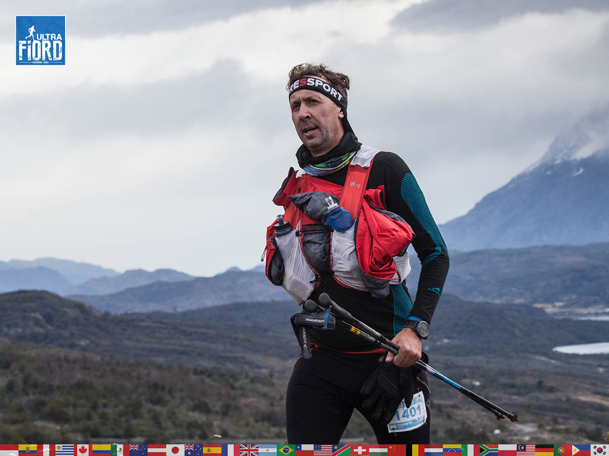 utf1904clsi0087FB; Ultra Trail Running in Patagonia, Chile; Ultra Fiord Fifth Edition 2019; Torres del Paine; Última Esperanza; Puerto Natales; Patagonia Running Ultra Trail; Claudio Silva