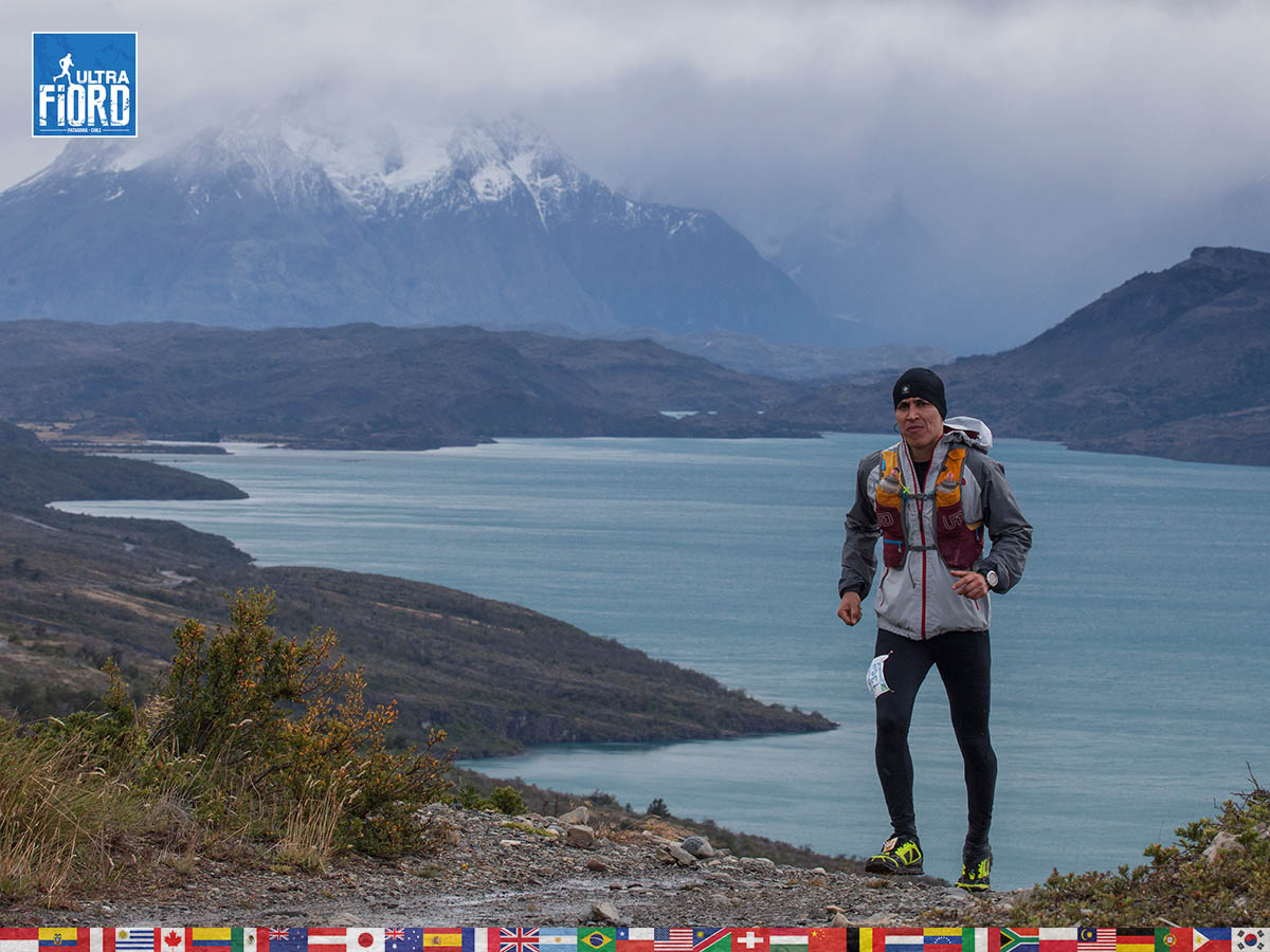 utf1904clsi0091FB; Ultra Trail Running in Patagonia, Chile; Ultra Fiord Fifth Edition 2019; Torres del Paine; Última Esperanza; Puerto Natales; Patagonia Running Ultra Trail; Claudio Silva