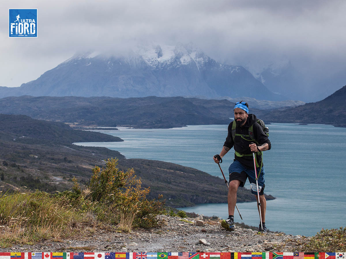 utf1904clsi0099FB; Ultra Trail Running in Patagonia, Chile; Ultra Fiord Fifth Edition 2019; Torres del Paine; Última Esperanza; Puerto Natales; Patagonia Running Ultra Trail; Claudio Silva