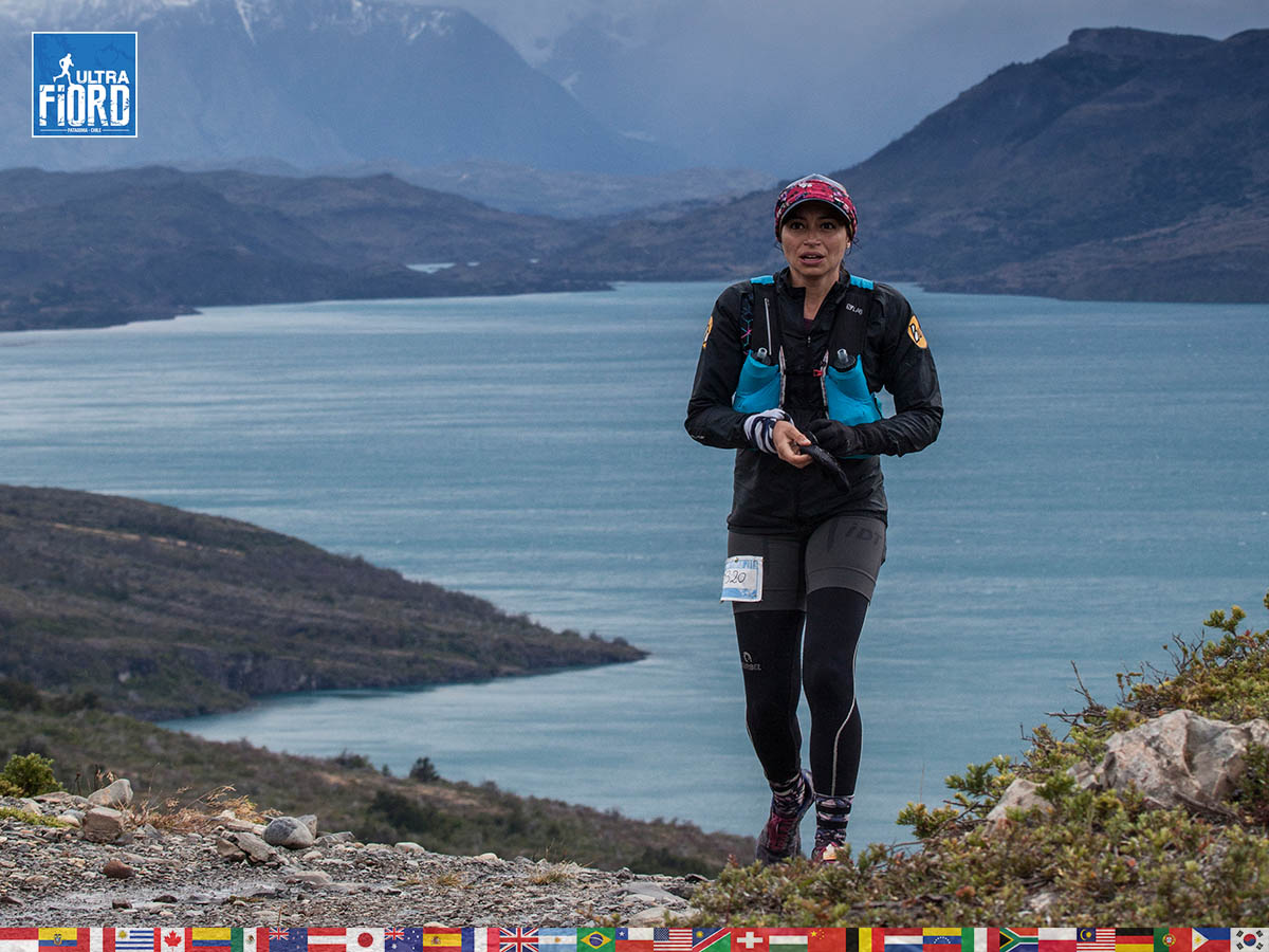 utf1904clsi0105FB; Ultra Trail Running in Patagonia, Chile; Ultra Fiord Fifth Edition 2019; Torres del Paine; Última Esperanza; Puerto Natales; Patagonia Running Ultra Trail; Claudio Silva