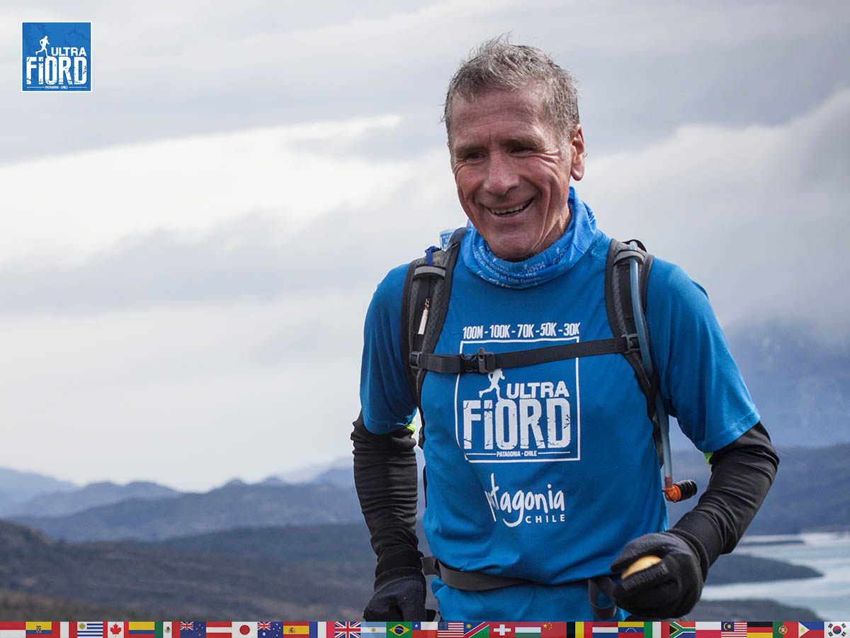 utf1904clsi0112FB; Ultra Trail Running in Patagonia, Chile; Ultra Fiord Fifth Edition 2019; Torres del Paine; Última Esperanza; Puerto Natales; Patagonia Running Ultra Trail; Claudio Silva