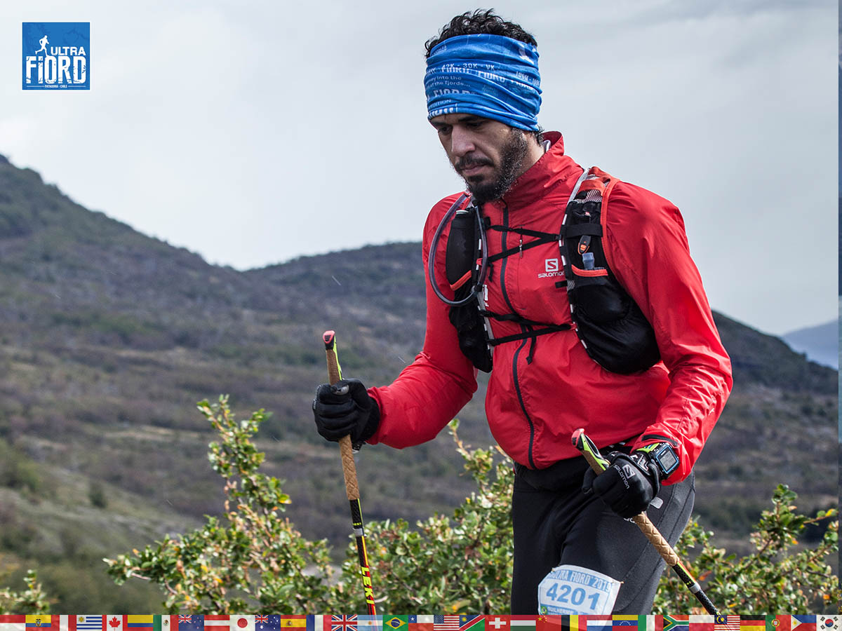 utf1904clsi0121FB; Ultra Trail Running in Patagonia, Chile; Ultra Fiord Fifth Edition 2019; Torres del Paine; Última Esperanza; Puerto Natales; Patagonia Running Ultra Trail; Claudio Silva