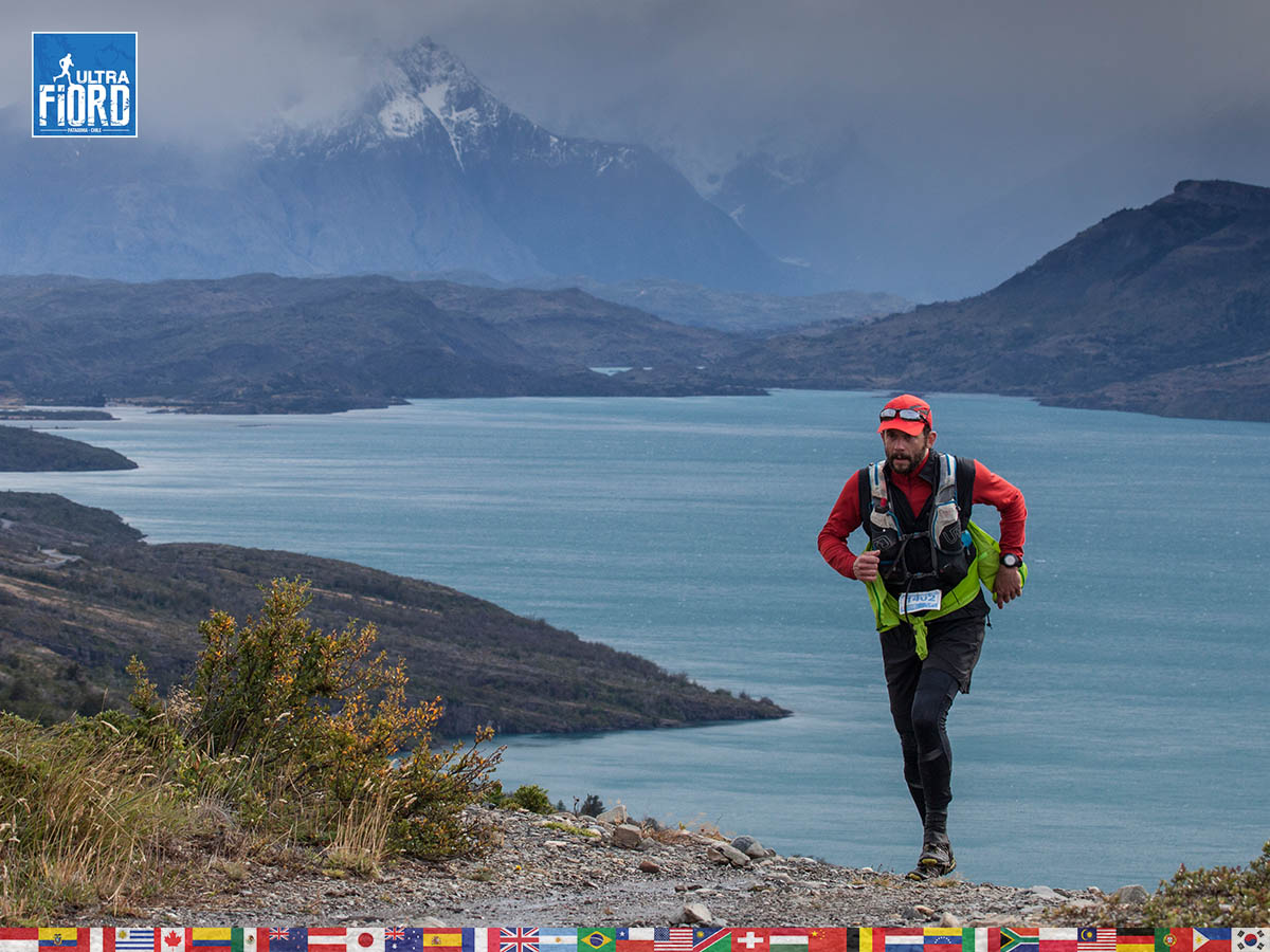 utf1904clsi0129FB; Ultra Trail Running in Patagonia, Chile; Ultra Fiord Fifth Edition 2019; Torres del Paine; Última Esperanza; Puerto Natales; Patagonia Running Ultra Trail; Claudio Silva