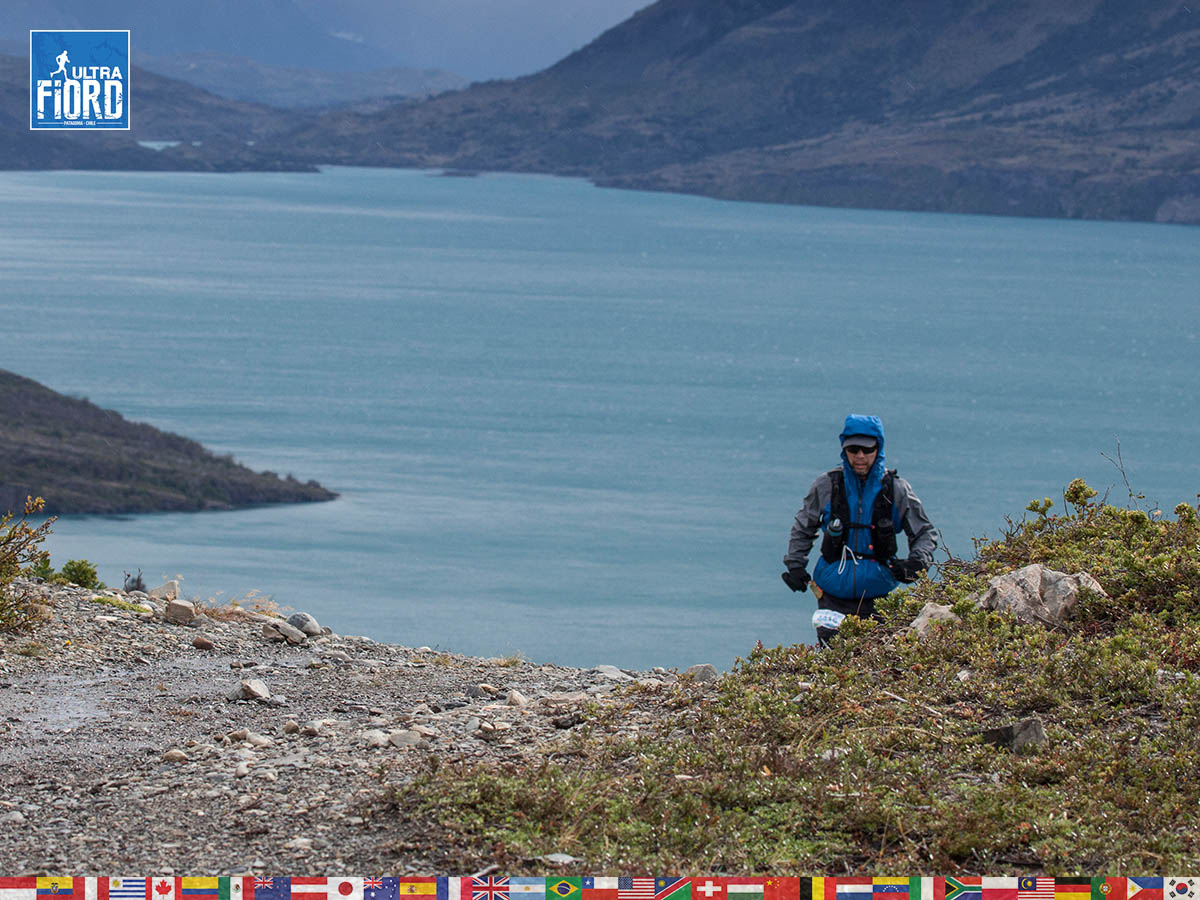 utf1904clsi0133FB; Ultra Trail Running in Patagonia, Chile; Ultra Fiord Fifth Edition 2019; Torres del Paine; Última Esperanza; Puerto Natales; Patagonia Running Ultra Trail; Claudio Silva