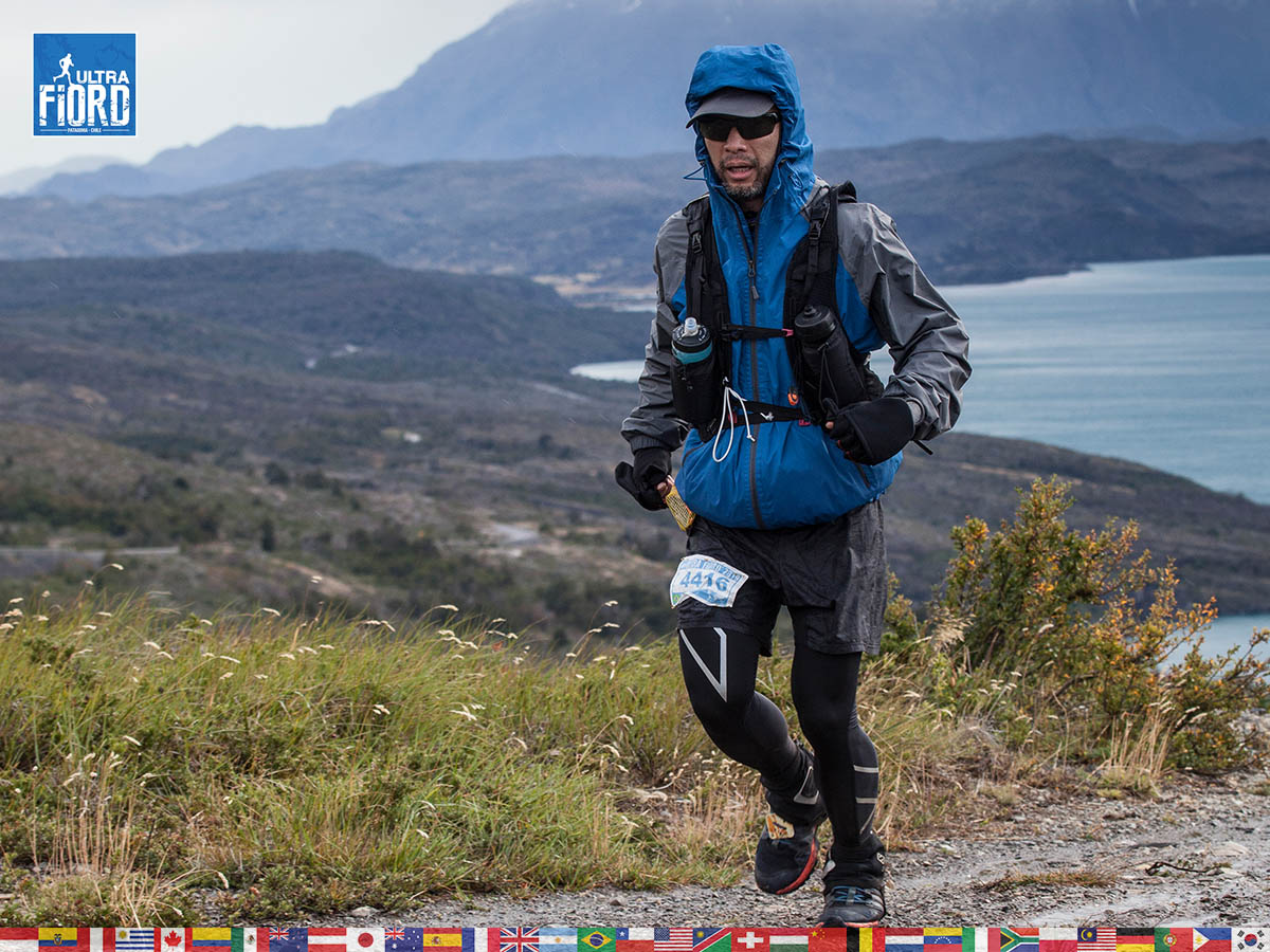 utf1904clsi0136FB; Ultra Trail Running in Patagonia, Chile; Ultra Fiord Fifth Edition 2019; Torres del Paine; Última Esperanza; Puerto Natales; Patagonia Running Ultra Trail; Claudio Silva